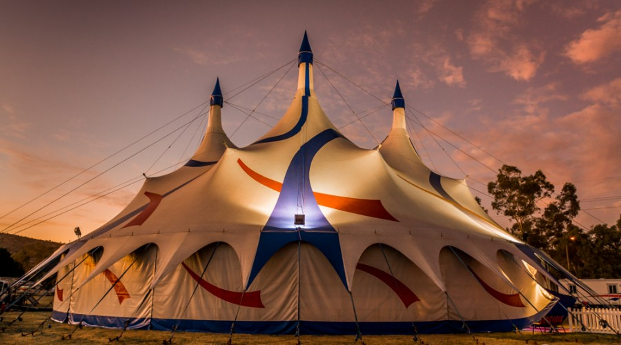 Photographing The Loritz Circus