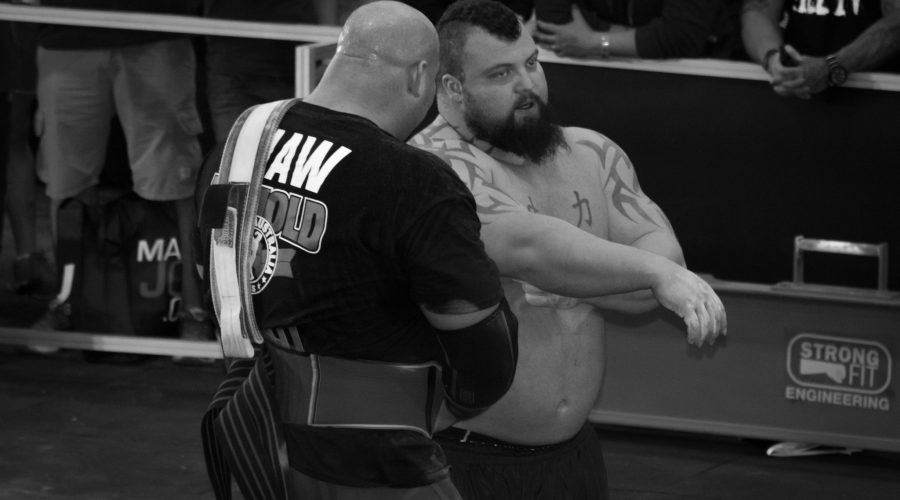 Eddie Hall Breaks World Deadlift Record