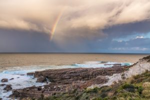 Photo Of The Week: Green Cape Rainbow